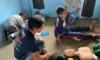 ネパール水上救助法指導