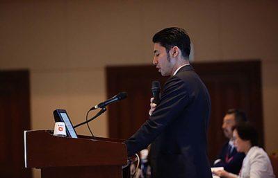 国際学会での発表・講演